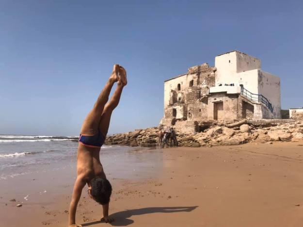 Amir, spiaggia Sidi Kouaki, Essaouira, Marocco (Serena Brocca)